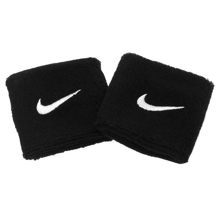 100% authentic 8f57f 12e2b Nike Swoosh Wristbands (pair) – Black and White