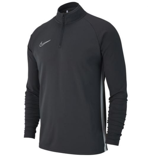f90b7d9c NEW Nike Academy 19 Drill Top in Anthracite