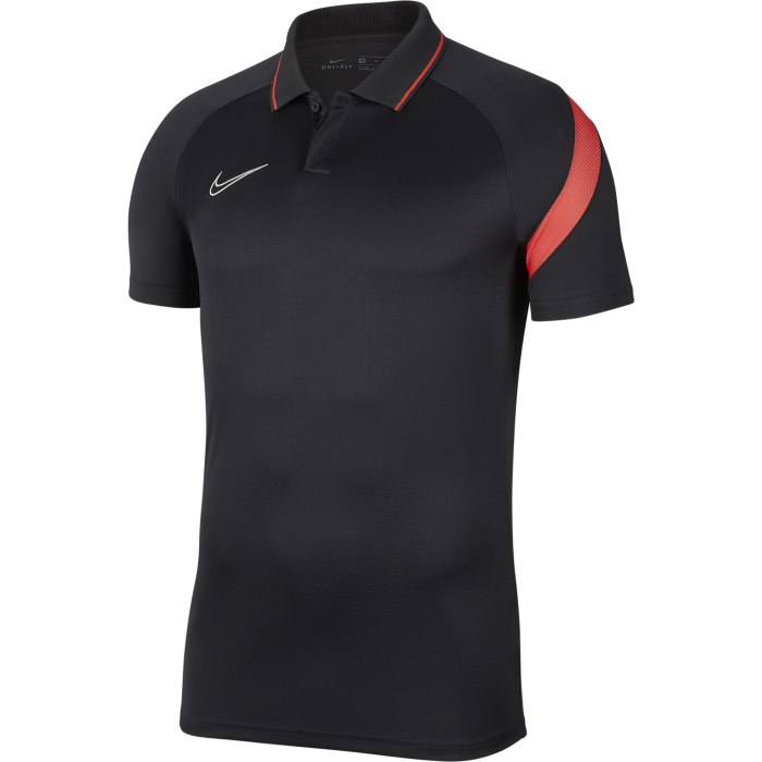 Nike Academy Pro Polo Anthra/Red